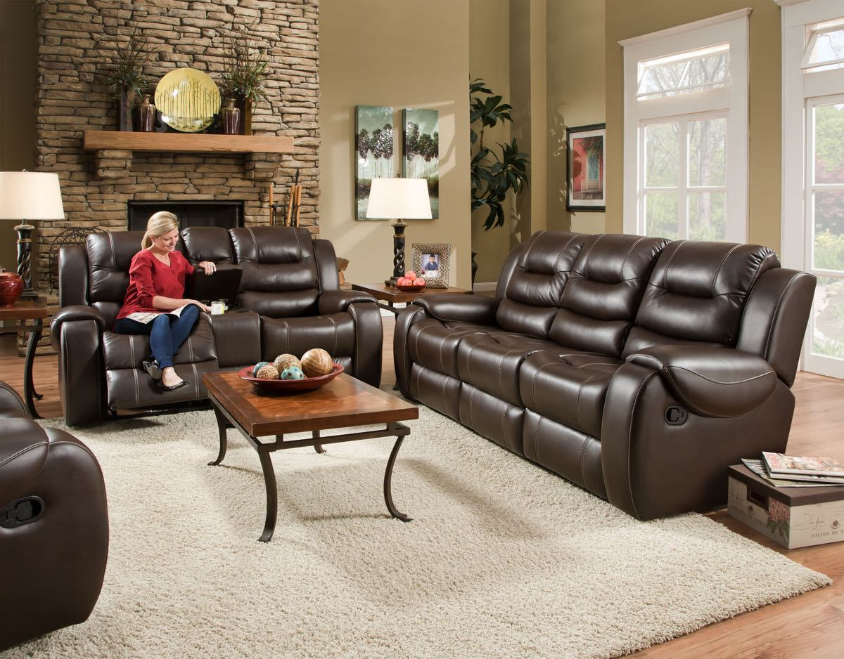 Reclining sofa love seat sets factory direct furniture 4u for Factory direct furniture