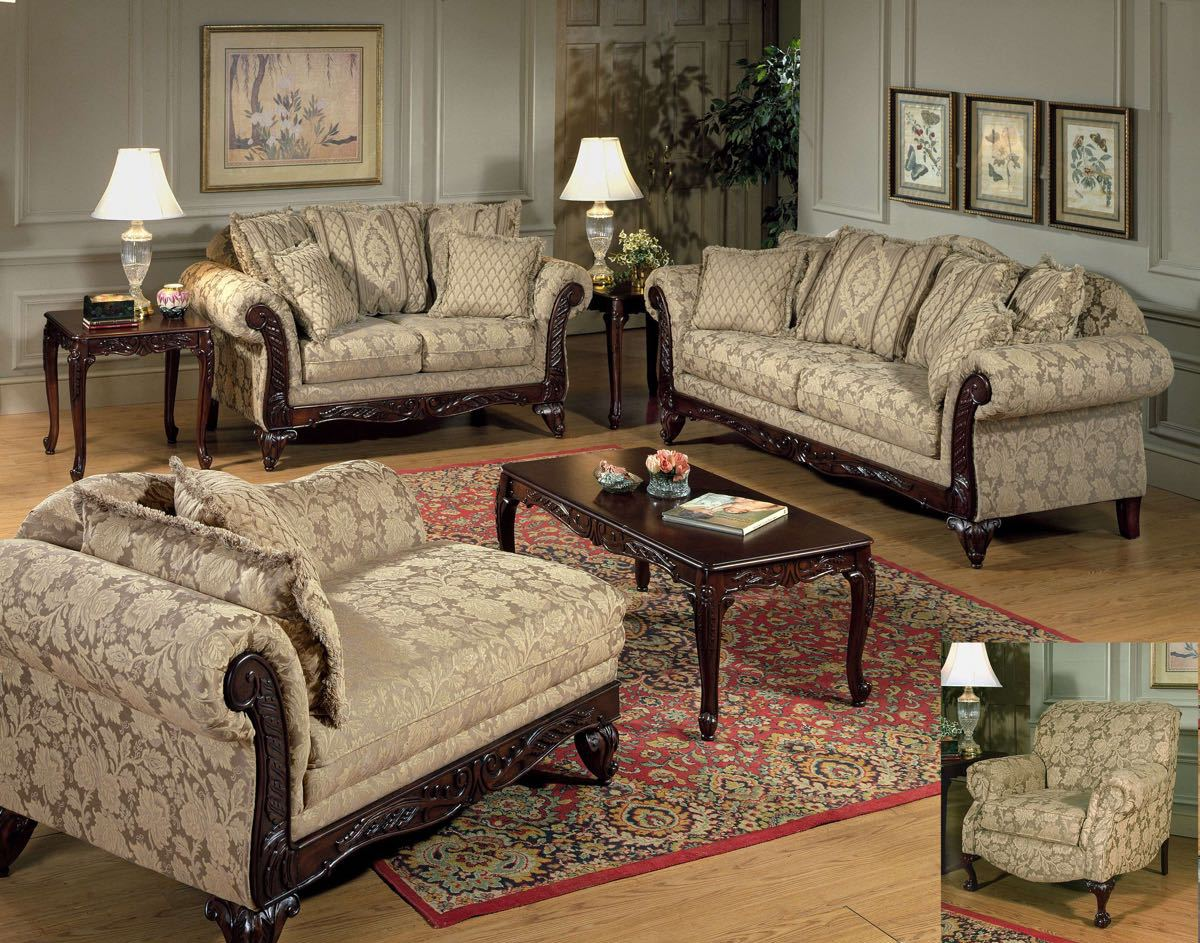 Stationary sofa love seat sets factory direct furniture 4u for Sitting room furniture catalogue
