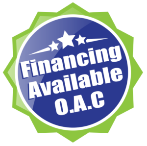 financing available on approved credit