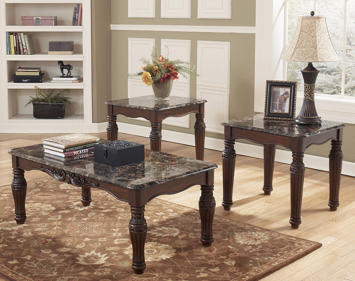 Ashley T533 Table Set & Cocktail u0026 End Table Sets - Factory Direct Furniture 4U