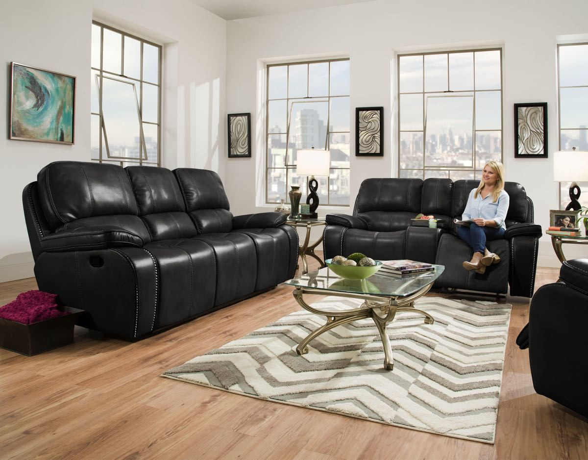 Reclining sofa and loveseat sets for Factory direct living room furniture